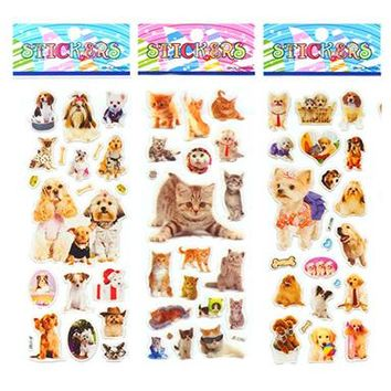 Kawaii Pets 6pcs Sticker Pack
