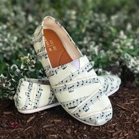 Sheet Music Casual Shoes