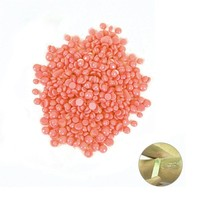 100g Painless Hair Removal No Strips Woman Depilatory Pearl Hard Wax/Brazilian Granules Film Wax Beads For Hair Removal Pink