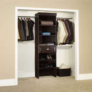 Sauder Hanover Closet Wide Starter Kit | Wayfair