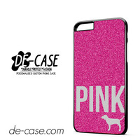 Pink Glitter Original Victoria's Secret DEAL-8683 Apple Phonecase Cover For Iphone 6/ 6S Plus