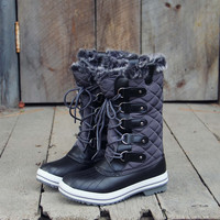 Smoke & Frost Snow Boots