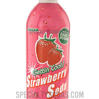 Sangaria Strawberry Soda 480ml Aluminum Bottle Can
