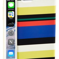 kate spade new york striped iPhone 6 case - White
