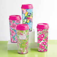 The Preppy Princess|Lilly Pulitzer Thermal Travel Mugs