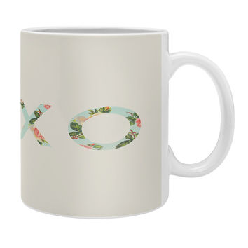 Allyson Johnson Floral XOXO Coffee Mug
