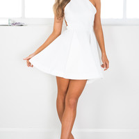 SPARKS FLYING DRESS IN WHITE