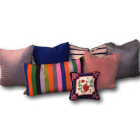 Vintage Boho Funky Decorative Pillows - A Collection
