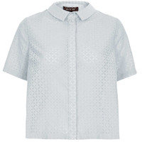 Shortsleeve Geo Burnout Shirt - '90s Antwerp - Clothing - Topshop