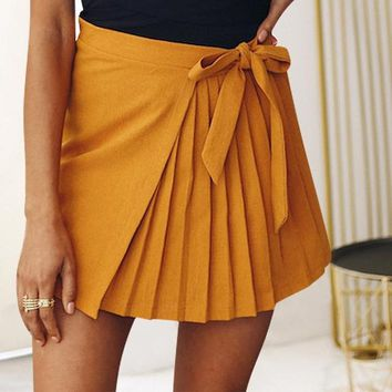 Goldie Pleated Serenade Skirt