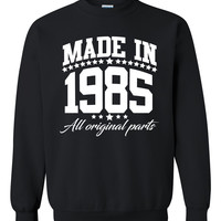 Made in 1985 all original parts Crewneck Sweatshirt
