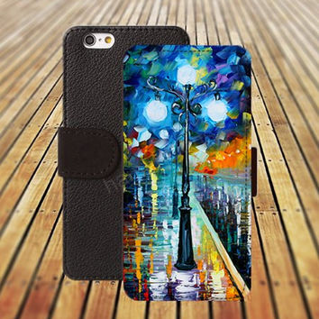 iphone 5 5s case dream lights waterlcolor colorful iphone 4/4s iPhone 6 6 Plus iphone 5C Wallet Case,iPhone 5 Case,Cover,Cases colorful pattern L291