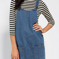 Urban Outfitters - Cooperative Front Pocket Overall Dress