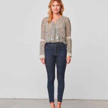 Women's Cupcakes and Cashmere Zilla Printed Top