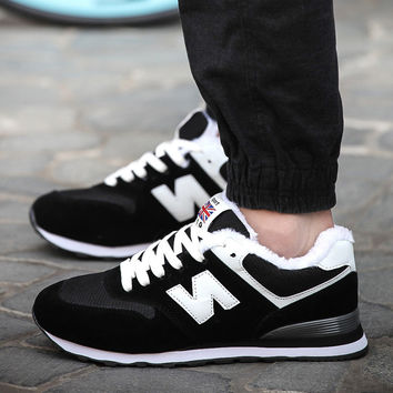 Hot Deal Comfort Stylish Hot Sale On Sale Casual Men Jogging Men's Shoes Winter Korean Sneakers [9257017932]
