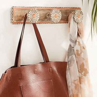 Catalina Painted Wood Multi Hook - Urban Outfitters