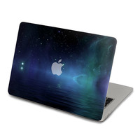 SkinAT Night Lake Sky Sticker Decal For Macbook