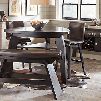 Noah Chocolate 4 Pc Bar Height Dining Room - Dining Room Sets Dark Wood