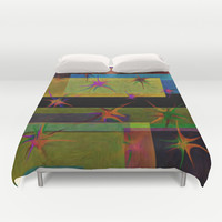 COLORS AT WORK Duvet Cover by Robleedesigns