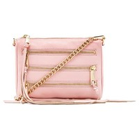 Rebecca Minkoff Mini 5 Zip in Pink