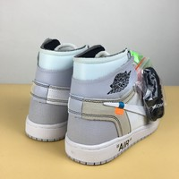 [Free Shipping]OFF-WHITE x Air Jordan Basketball Sneaker