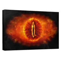 Lord Of The Rings Eye Of Sauron Canvas Wall Art Lord Of The Rings Eye Of Sauron