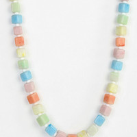 Urban Outfitters - Diament Jewelry For Urban Renewal Pastel Beaded Necklace