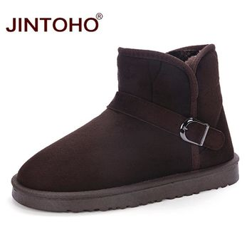 WolfWho Unisex Winter Warm Men Shoes Cheap Snow Men Boots Big Size Rubber Male Boots Brand Fashion Casual Lover's Ankle Boots