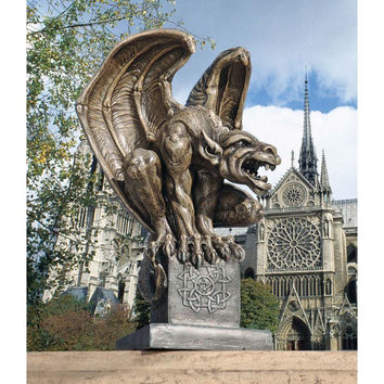 Park Avenue Collection Abbadon Gargoyle Statue
