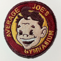 Embroidered Patch Inspired by Average Joe's Gymnasium from Dodgeball