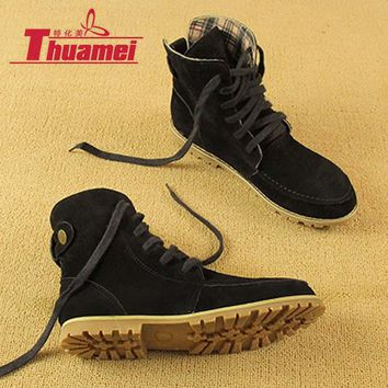 new arrival warm black women snow boots women's fashion autumn boots winter motorcycle