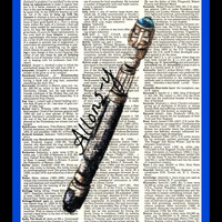 Buy Any 2 Prints get 1 Free Sonic Screwdriver by thedigitalarttree