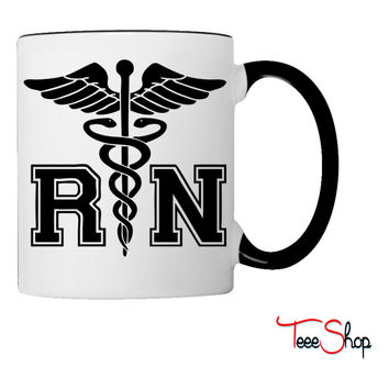 RN Registered Nurse Coffee & Tea Mug