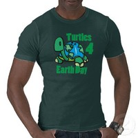 Turtles for Earth Day T-shirt from Zazzle.com