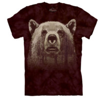 Bear Face Forest T-Shirt