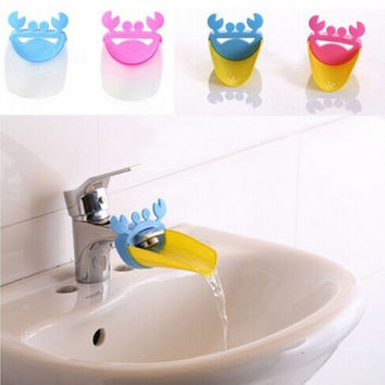 Faucet Extender Children Guiding Gutter for Kid Hand Washing Faucet Accessories Bathroom 1pcs = 1945881028