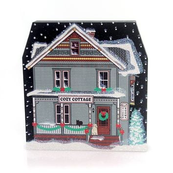 Cats Meow Village Cozy Cottage Elf Size Rooms Christmas House
