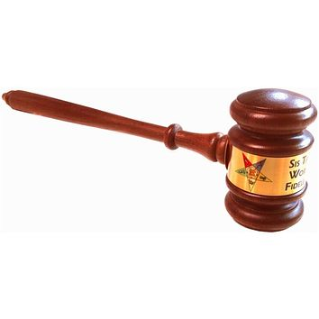 Order of the Eastern Star Gavel OES Custom Gavel