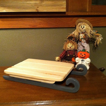 Sleigh Infant Photo Prop Made with Reclaimed Barn Wood