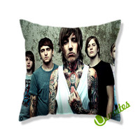 Bring Me The Horizon Music Band Square Pillow Cover