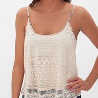 Fire Lace Tank Top