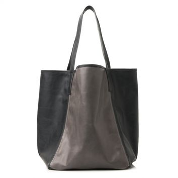 City tote black/charcoal | Graf & Lantz