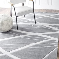 nuLOOM Hand Tufted Warren Area Rug