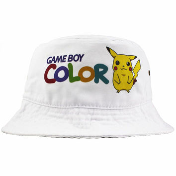 Vintage Game Boy Color Bucket Hat