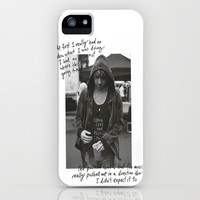 Alex Gaskarth - All Time Low iPhone & iPod Case by amy.