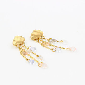 Korean Crystal Earring Accessory [6056866369]