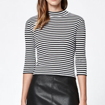 OBEY Billie Faux Leather Mini Skirt at PacSun.com