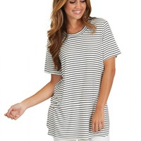Aim High Tunic In Stripes | Monday Dress Boutique