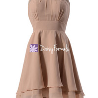 Stylish Dance Dress Short High Low Party Dress Chic Cocktail Dress (CST2225)