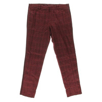 Tory Burch Womens Drew  Tweed Contrast Trim Casual Pants